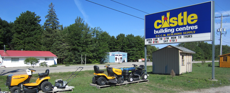 Your trusted building supply partner on Manitoulin. For free delivery call us at (705) 377-5111.